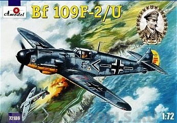 AM72186 Bf 109F-2/U Galland Amodel