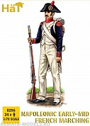 HAT8296 Фигуры Pre-1812 French Line Infantry Marching