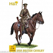 HAT8272 Фигуры WWI British Cavalry 1/72