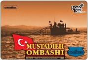 KB3578FH French Turquoise / Turkish Mustadieh Ombashi Submarine, 1915