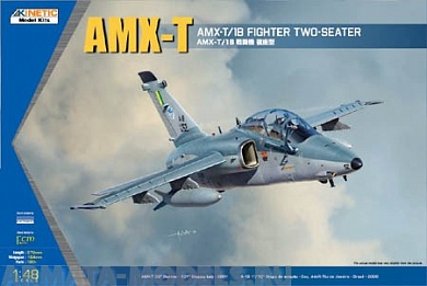 K48027 AMX-T/1B Two-seater Fighter Kinetic