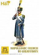 HAT8234 Фигуры Napoleonic French Infantry in Greatcoats