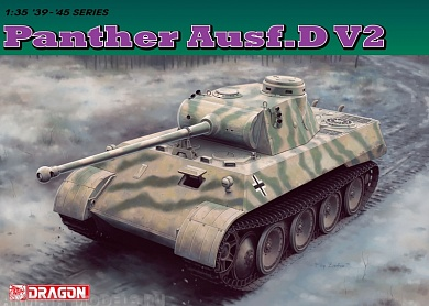6822Д ТАНК PANTHER Ausf.D V2 Dragon