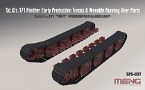 SPS-057 German Medium Tank Sd.Kfz.171 Parther Early Production Tracks&Movable Runninq Gear Parts