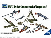 RE30010 1/35 WWII British Commonwealth Weapon Set A