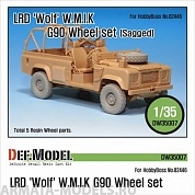 DW35007 Дополнение для моделей LRD XD Wolf 'W.M.I.K' G90 Sagged Wheel set (for Hobbyboss 1/35)