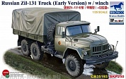 CB35193 Грузовик Russian Zil-131 Truck (Early Version) w / winch