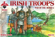 RB72044 Фигуры War of the Roses 5. Irish troops