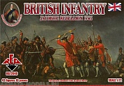 RB72049 Фигуры Jacobite Rebellions. British Infantry 1745