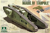 2015Т  WWI Heavy Battle Tank Mark IV Male Tadpole w/Rear mortar