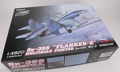 L4820 Самолет Su-35S Flanker E Multirole Fighter Great Wall