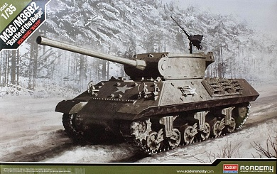 "13501 Танк  M36/M36B2 US Army   ""Battle of the Bulge"" Academy"
