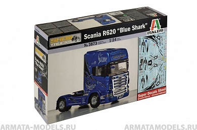 "3873ИТ Грузовик Scania R620 ""BLUE SHARK"" Italeri"
