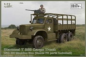 IBG72083 Грузовик Diamond T 968 Cargo Truck with M2 Machine Gun (Bonus PE parts)