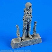 480085AERO 480085 Фигура USAF Fighter Pilot Vietnam War 1960-75 1/48