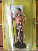 SRM012 Фигура Pict Warrior, 2nd c., 1/32 Del Prado