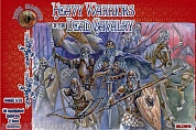 ALL72014 Фигуры Heavy Warriors of the Dead Cavalry 1/72