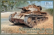 IBG72036 Танк Stridsvagn M/40 L Swedish light tank