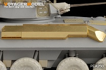 PEA250 Набор фототравления для 1/35 Modern USMC LAV-25-SLEP Exhaust Cover (For TRUMPETER)