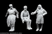 3059STAL Russian Tank Crew 3 figures