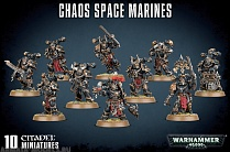 43-06GW Набор Космодесант Хаоса (2019) (Chaos Space Marines)