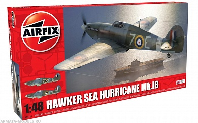 A05134 СамолетHawker Sea Hurricane MK.I Airfix