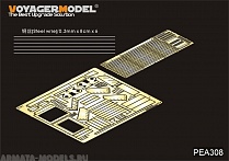 PEA308 Набор фототравления для Modern US ArmyM1A2 TUSK II Engine Cooling(For TAMIYA 35326)