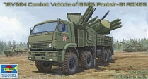 01060P Игрушка ЗРК Russian 72V6E4 Combat Vehicle of 96K6 Pantsir -S1 ADMGS (1:35)