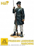 HAT8309 Фигуры Prussian Landwehr Marching 1/72